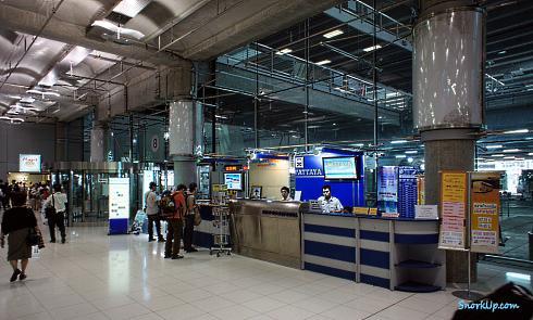 Можно купить билеты до Бангкока и Патайи