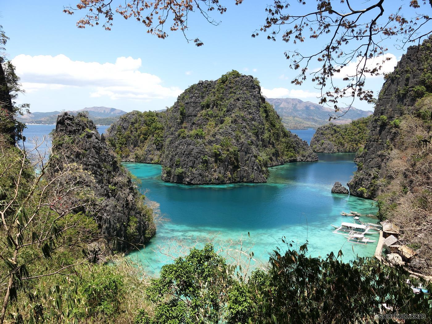 Классический вид Kayangan Lake