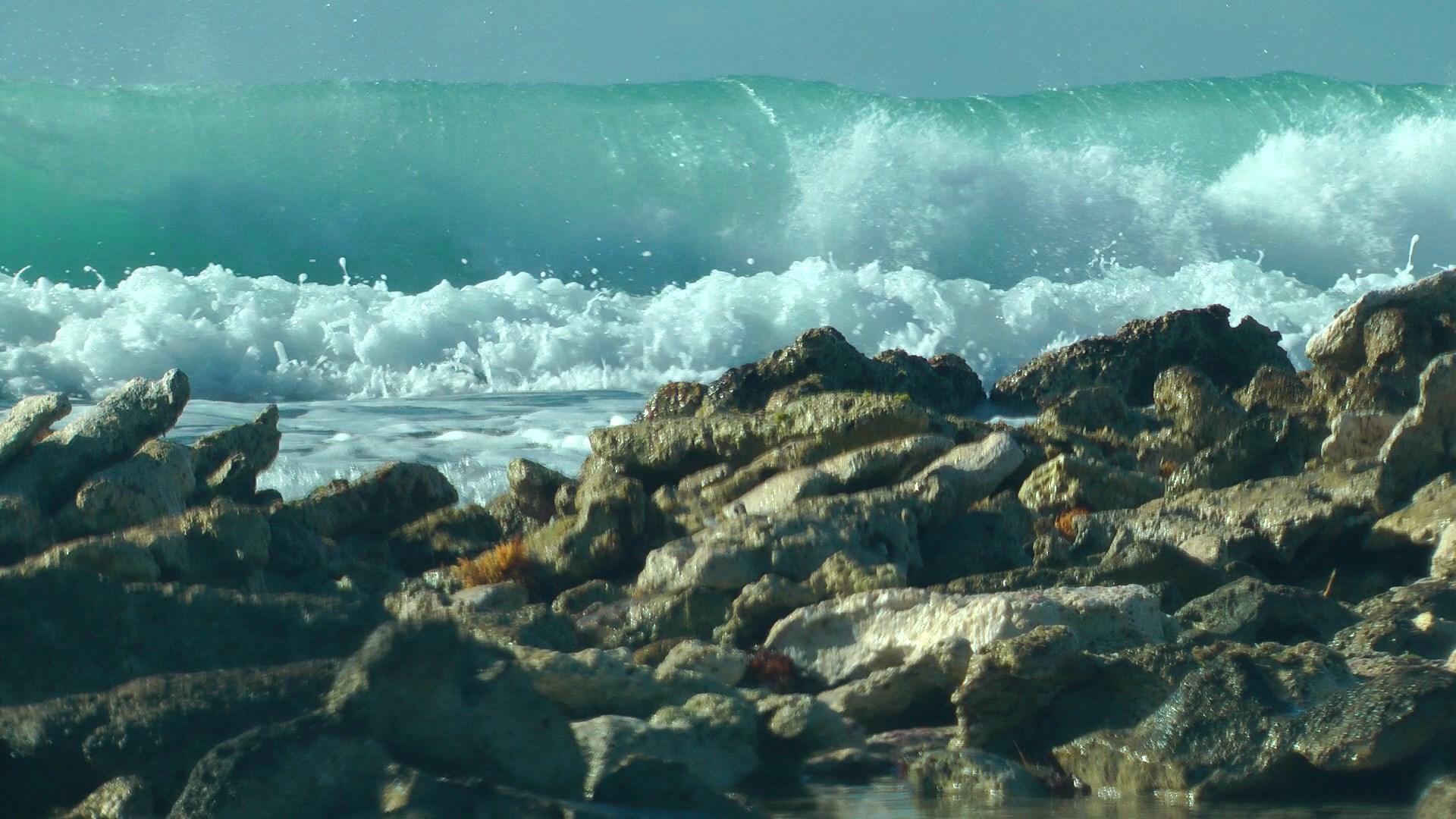 Волны на рифе